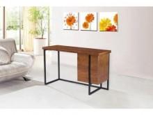 [全新] 阿諾德4尺胡桃二抽書桌書桌/椅全新