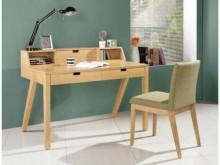 [全新] 經典4尺栓木本色二抽書桌書桌/椅全新