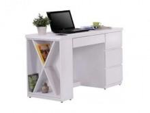 [全新] 比薩4尺白色電腦書桌電腦桌/椅全新
