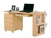 [全新] 布萊恩4.5尺栓木本色電腦桌電腦桌/椅全新