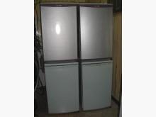三洋小單門冰箱高度120公分極新冰箱有輕微破損