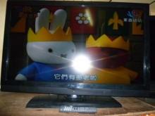 [8成新] 李太太憶碩42吋畫質清晰色彩鮮艷電視有輕微破損