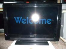 [8成新] 禾聯37吋液晶色彩鮮艷畫質佳電視有輕微破損