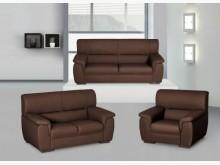 [全新] 皇家半牛皮沙發全組43800多件沙發組全新