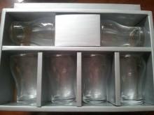 中厚度/透明玻璃水杯6個1組杯子全新