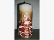 立體浮雕蠟燭藝術品 S收藏擺飾全新