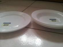 雪白輕瓷盤SPAIN碗/缽/盤/碟全新