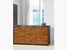 [全新] 雅萊鐵刀柚木5尺石面餐櫃9900碗盤櫥櫃全新