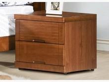 [全新] 凱西柚木色床頭櫃床頭櫃全新