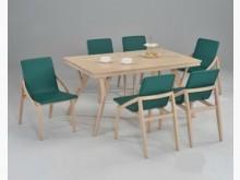 水洗白歐文餐桌**不含椅子餐桌全新