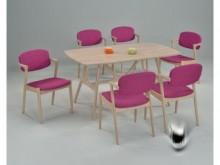 [全新] 水洗白大寇迪餐桌**不含椅子餐桌全新