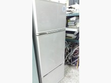 瘦高型東元380公升三門冰箱冰箱無破損有使用痕跡