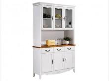 [全新] 艾拉鄉村4尺餐櫃收納櫃全新
