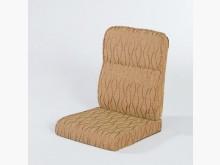 [全新] 條紋咖啡緹花布椅墊 滿7片免運費木製沙發全新