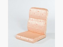[全新] 亮彩粉緹花布椅墊 購滿7片免運費木製沙發全新