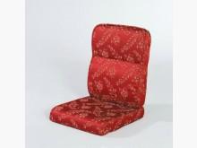 [全新] 騰花紅緹花布椅墊 購滿7片免運費木製沙發全新