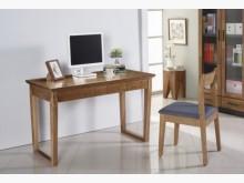 [全新] 風華4尺胡桃二抽書桌書桌/椅全新