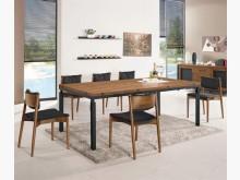 [全新] 賈桂琳6.6尺胡桃餐桌*可打折餐桌全新