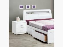 [全新] v352白色5尺床頭$5500雙人床架全新