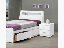 [全新] v351白色3.5尺床頭4300單人床架全新