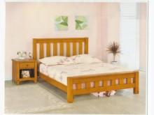 [全新] 芝加哥5尺實木床架特價$8900雙人床架全新