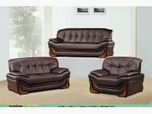 [全新] 5029咖啡皮沙發全組33500多件沙發組全新