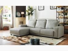 [全新] 日式淺灰L型布沙發特價26800L型沙發全新