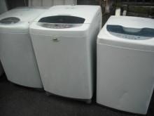 [8成新] 樂金7-10公斤洗衣機數台洗衣機有輕微破損