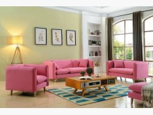 [全新] 莉莉娜粉紅布沙發全特價27800多件沙發組全新