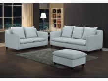 [全新] 蘿琳灰色布沙發全組特價39900多件沙發組全新