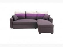 [全新] 深咖小L型布沙發床特價21800沙發床全新