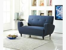 [全新] 深藍2人防潑水布沙發特價7600雙人沙發全新