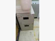 [9成新] 兩抽鐵櫃辦公櫥櫃無破損有使用痕跡