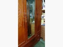 實木刻花古董衣櫥櫥/櫃無破損有使用痕跡