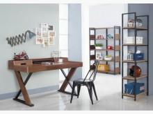 [全新] 傢具小達人~歐拉胡桃色書桌書桌/椅全新