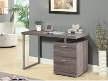 [全新] 康迪仕摩登書桌-褐灰特價4800書桌/椅全新