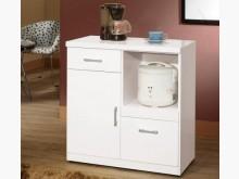 [全新] 祖迪白色2.7尺碗碟櫃下座碗盤櫥櫃全新