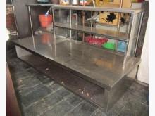 三合搬家物流(特製厚白鐵台)流理台無破損有使用痕跡