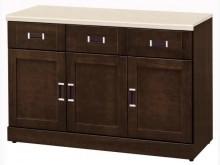 [全新] 4尺石面碗盤餐櫃下座特價7300碗盤櫥櫃全新