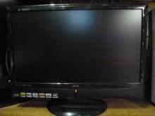 [8成新] BENQ24吋液晶色彩鮮艷電視有輕微破損