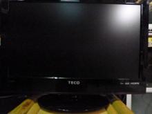 [8成新] 東元24吋液晶色彩鮮艷畫質清晰電視有輕微破損
