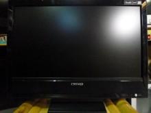 [8成新] 奇美22吋液晶色彩鮮艷畫質佳電視有輕微破損