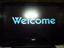 [8成新] 禾聯42吋液晶色彩鮮艷畫質佳電視有輕微破損