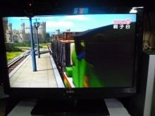 [8成新] 聲寶32吋液晶彩色鮮艷畫質佳電視有輕微破損