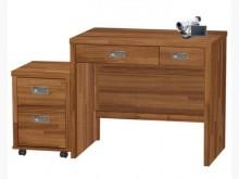 [全新] 肯傑柚木色3尺書桌(全組)書桌/椅全新