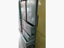 [9成新] 東芝六門變頻460公升冰箱冰箱無破損有使用痕跡