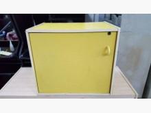[8成新] 樂居二手A1113BJC黃色書櫃書櫃/書架有輕微破損