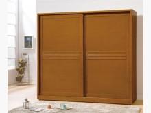 [全新] 米堤柚木色7呎推門衣櫃28800衣櫃/衣櫥全新