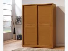 [全新] 米堤柚木色5呎推門衣櫃19800衣櫃/衣櫥全新