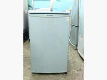 東元TECO小鮮綠單門冰箱91L冰箱無破損有使用痕跡
